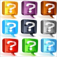 pr colorful_question_mark_vector_set_148455