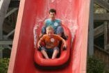 pr summer camp  water slide