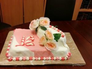 pr whats app  Bas Mitzvah cake