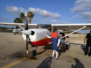 pr L2L sick children on plane tour of Israel- coord by L2L