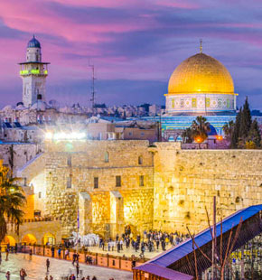 2 Roundtrip Tickets to Israel